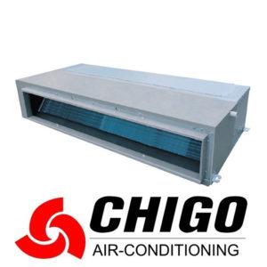 Канальный кондиционер Chigo CTB-60HVR1 / COU-60HDSR1 со склада в Ростове, для площади до 160 м2. Официальный дилер!